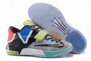 "Nike KD 7 ""What The"" Multi-Color/Horizon-Black 