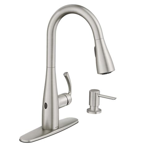 touch kitchen faucets touch activated  touchless