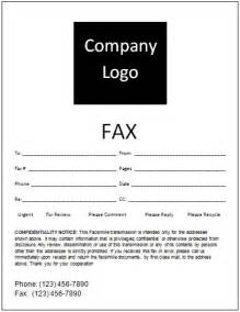 Free Fax Cover Sheet Template Word