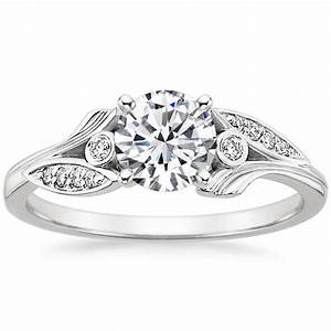 floral diamond engagement ring jasmine brilliant earth With jasmine wedding ring