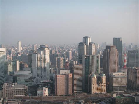 file osaka city view jpg wikimedia commons
