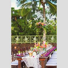 Hawaii Wedding Florist, Tropical Wedding Ideas, Tropical