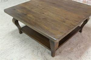 42inch Square Farmhouse Coffee Table ECustomFinishes