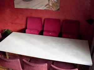 Holz Im Nassbereich : blickfang objektgestaltung sichtbetonkosmetik beton tisch ~ Markanthonyermac.com Haus und Dekorationen