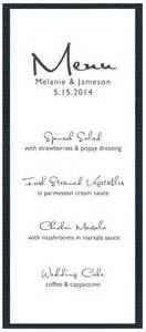 free wedding menu templates 5 best images of free printable menu cards free printable wedding menu templates menu card