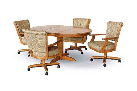 Chromcraft Dining Chairs Casters by Chromcraft Caster Chair Dining Room Concepts