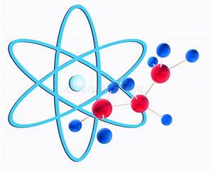 Molecular Structure And Atom Stock Illustration ...