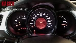 Kia Cee U0026 39 D Reset Service Light