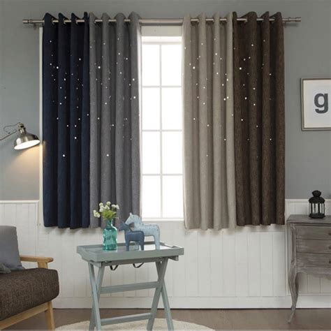 buy hollow curtains  living room