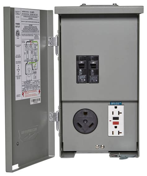 jerry rv power outlet  breakers industrial