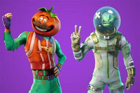 fortnite skins  leak reveals battle royale skins