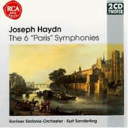 Haydn;6 Paris Symphonies By Berlin So, Sanderling Amazon
