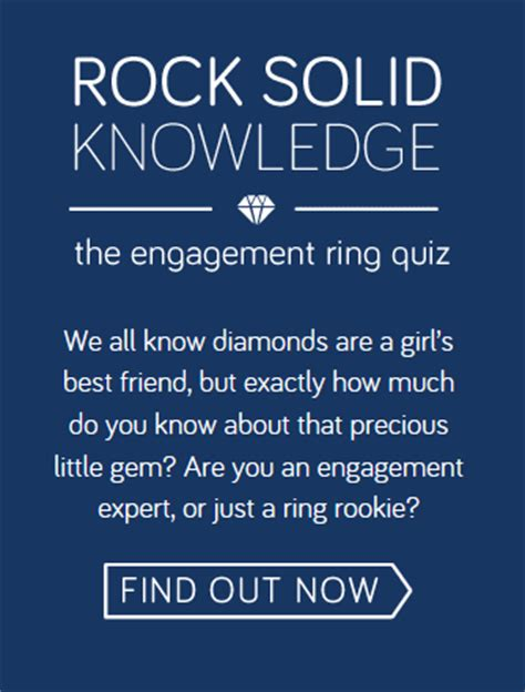 Quiz How Much Do You Know About Engagement Rings? Blog