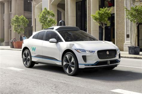 Waymo Picks Jaguar For Expanding Selfdriving Car Fleet