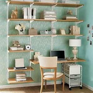 Bureau Avec étagère : designs uniques de bureau suspendu ~ Preciouscoupons.com Idées de Décoration