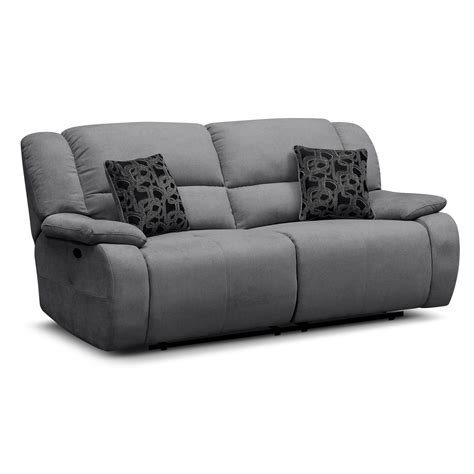 contemporary sofa and loveseat comfortable two seater reclining charcoal sofa and two