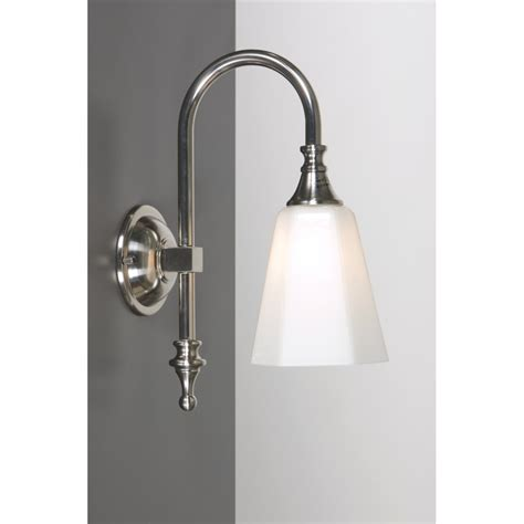 bathroom wall light satin nickel for traditional