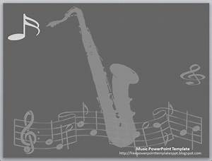 jazz music theme powerpoint template free download by With music themed powerpoint templates