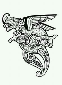 Celtic dragon, Celtic dragon tattoos and Celtic on Pinterest