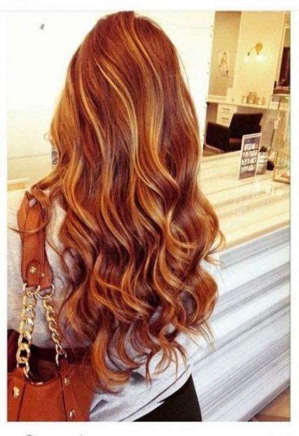 50+ ideas hair colorhighlights natural red #hair