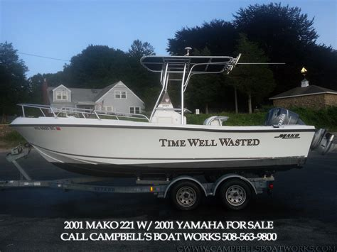 Mako Boat Trailers For Sale by 22 Mako Center Console Cbell S Boat Works Inc