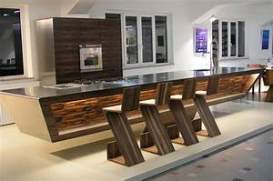 Brown Gorgeous Kitchen Cabinets With Modern Appliances