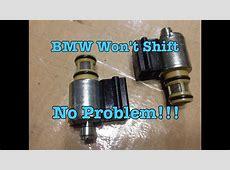 BMW E39 E36 GM 4L30E Transmission Not Shifting Nightmare