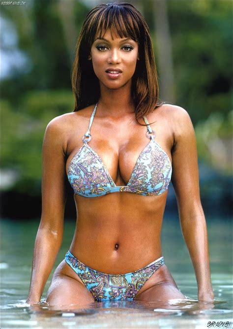 Super Sexxy Models Model Tyra Banks Exposed Her Sexxy Body