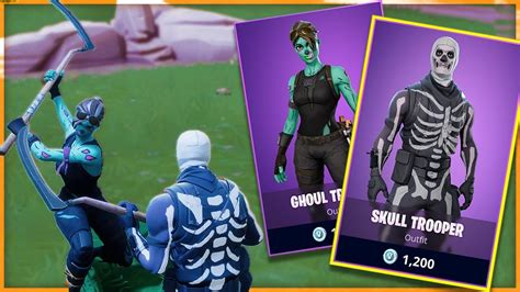 fortnite buying   halloween skins skull trooper