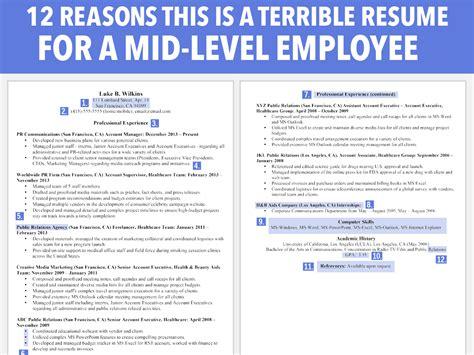 Worst Resume Workopolis by Really Bad Resume Exles Webcsulb Web Fc2