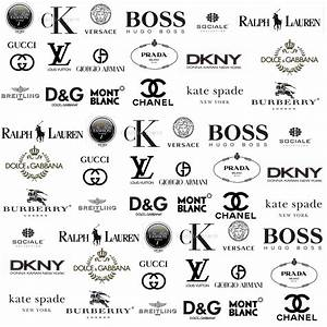 Clothing brands logos and names