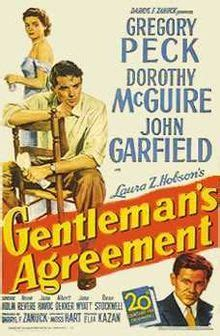 gentlemans agreement wikipedia