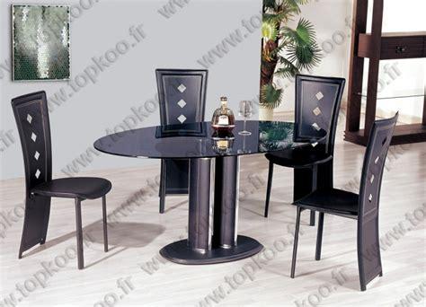 ensemble table et chaises salle à manger ensemble salle a manger table 4 chaises noir table