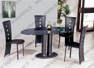 ensemble salle a manger table 4 chaises noir table With salle À manger contemporaineavec ensemble table et chaises salle À manger