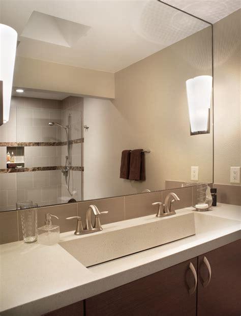 master bath modern bathroom phoenix  patricia  warren aia warren architecture llc