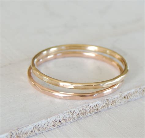 simple wedding ring wedding band 14k yellow gold ring by