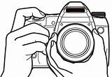 Camera Coloring Pages Cartoon Sheets sketch template