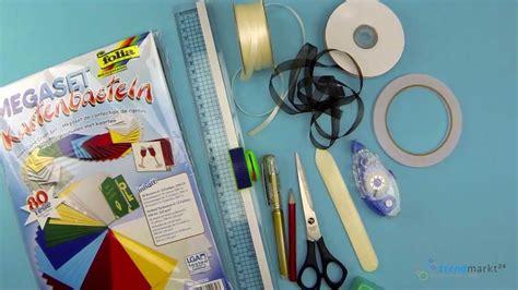 tischkarten selber basteln aus edlem papier youtube