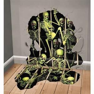 Decoration Halloween Pas Cher : achat vente d co murale squelette d co halloween pas cher ~ Melissatoandfro.com Idées de Décoration