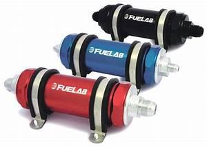 Fuelab Fuel Filter Long Length 5