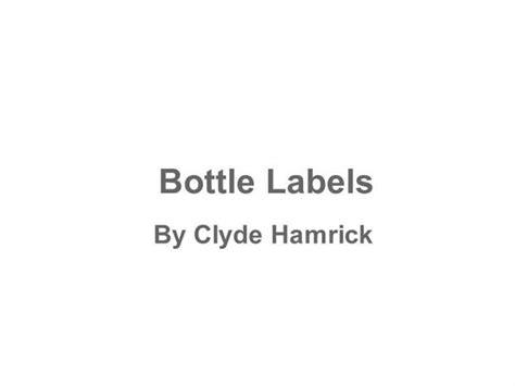 beer bottleneck label powerpoint template designing a beer bottle label authorstream
