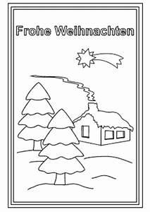Kostenlose Weihnachtskarten Zum Ausdrucken Und Ausmalen
