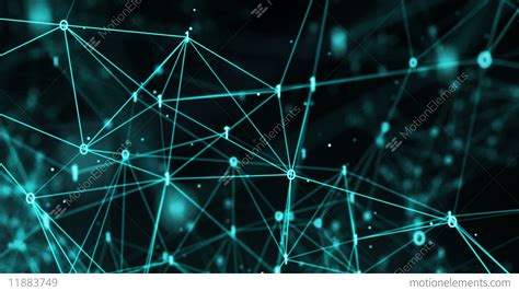 Digital Network Wallpaper Hd by Abstract Motion Background Digital Binary Polygon Plexus