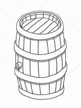 Keg Drawing Vector Getdrawings sketch template