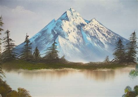 Bob Ross Style Landscape By Liannec On Deviantart