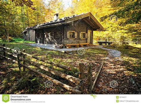 Old Traditional Wooden House In The Forest Royalty Free