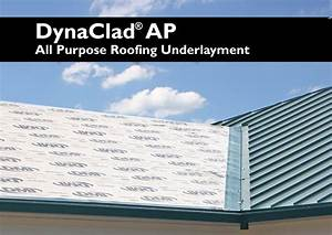 Dynaclad Ap All Purpose Roofing Underlayment Dimensional