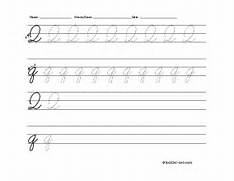 source toddler netcom report cursive letter q