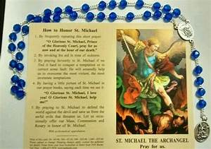Chaplet Of St  Michael Angelic Crow Rosary