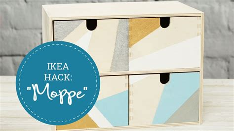 Ikea Moppe Hack by Ikea Hacks Minikommode Moppe Bemalen